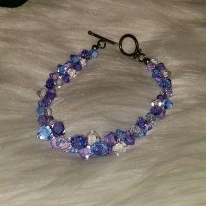Jewelry - Glass beaded bracelet